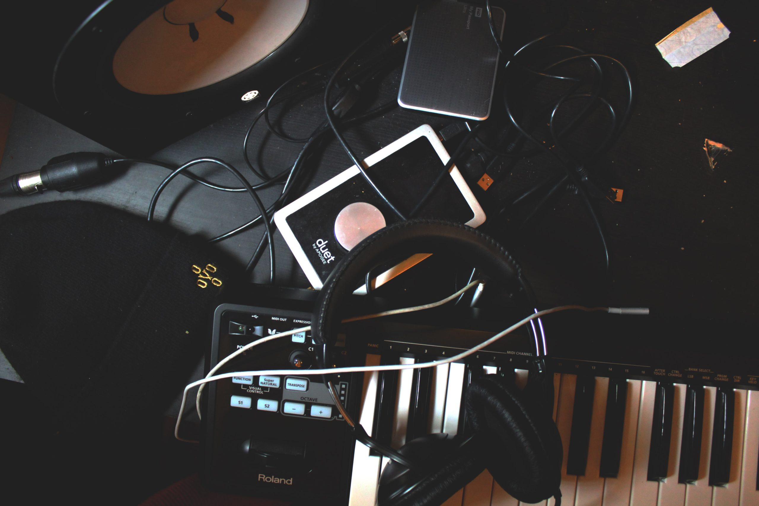 Image of music gear